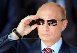 putin & sunglasses